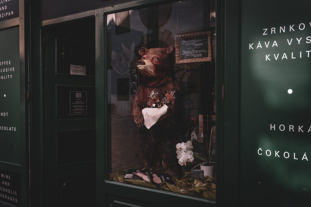 chocolate store in Czech Republic